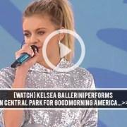 Kelsea Ballerini GMA