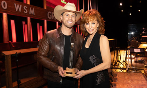 Dustin Lynch & Reba McEntire, Opry Induction