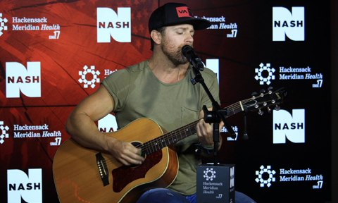 Kip Moore, Nash FM 94.7 HMH Stage 17, NYC (Photo by Nash FM 94.7 via Facebook)