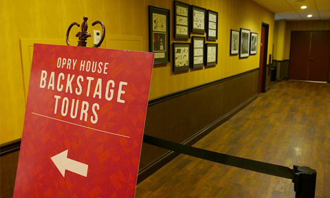 VIP Backstage Tours at Grand Ole Opry