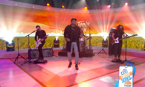 Jimmie Allen Today Show