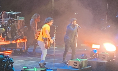 Morgan Evans, Dan + Shay, Chris Young