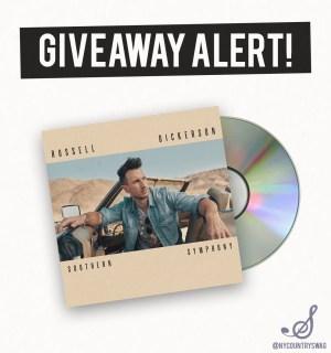 Win Russell Dickerson Album