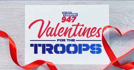 Kelly Ford 94.7 Valentine's for the Troops