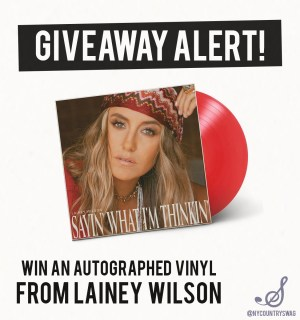 Lainey Wilson Giveaway