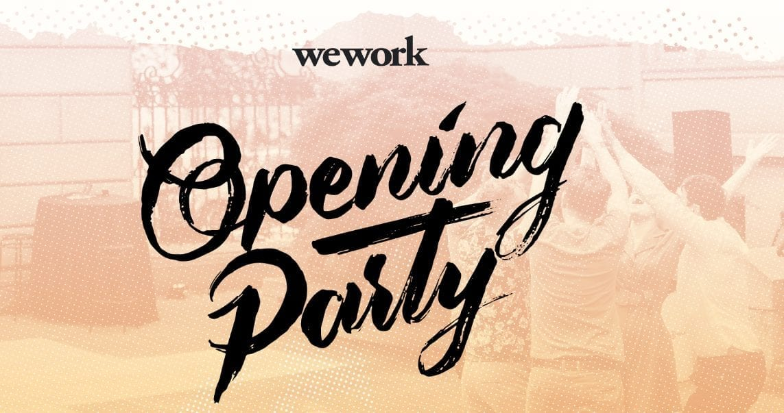 Opening Party At Wework Queens Thursday March 15th Nycplugged