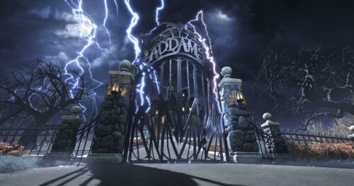 Booking.com Offers Daring Guests an Ultimate Halloween Experience at The Addams Family Mansion