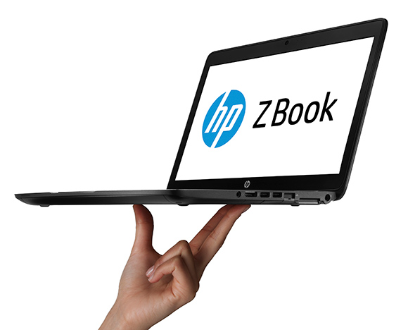 The remarkably portable HP ZBook 14 Mobile Workstation