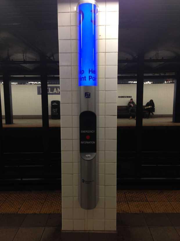 help point nyc subway