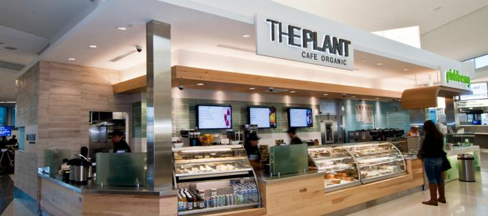 the plant organic cafe