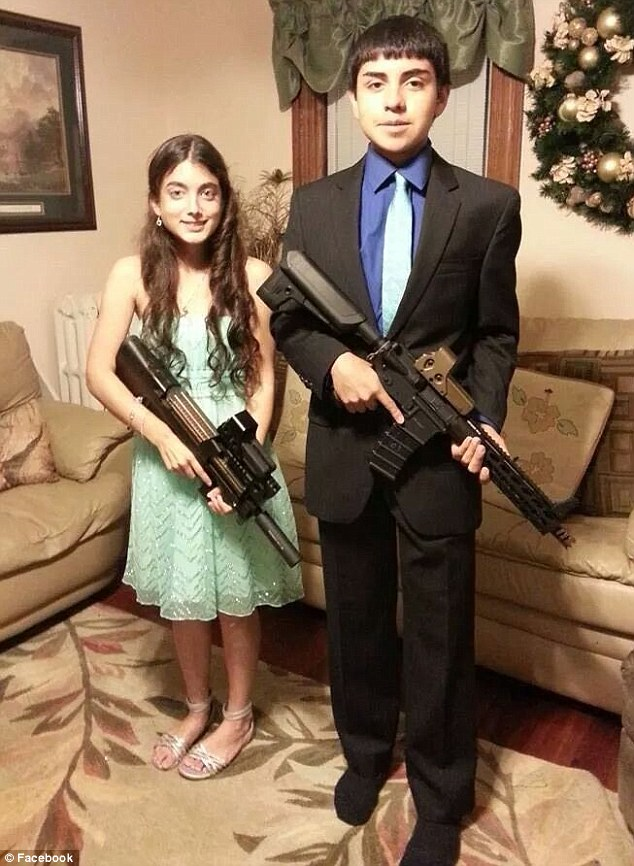 kids suspended for air soft guns