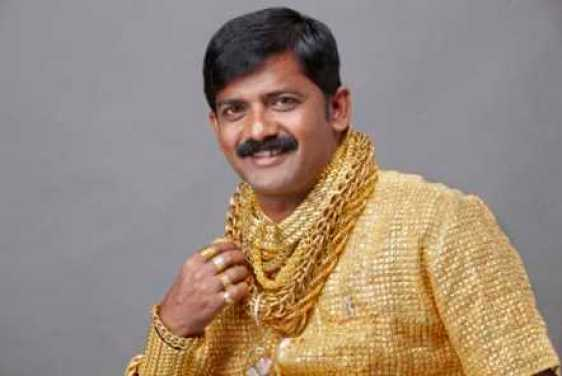 indian gold shirt