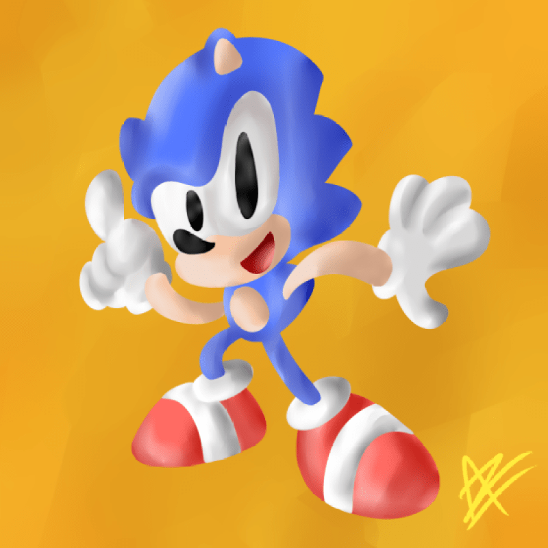 aneil rodriguez sonic drawn