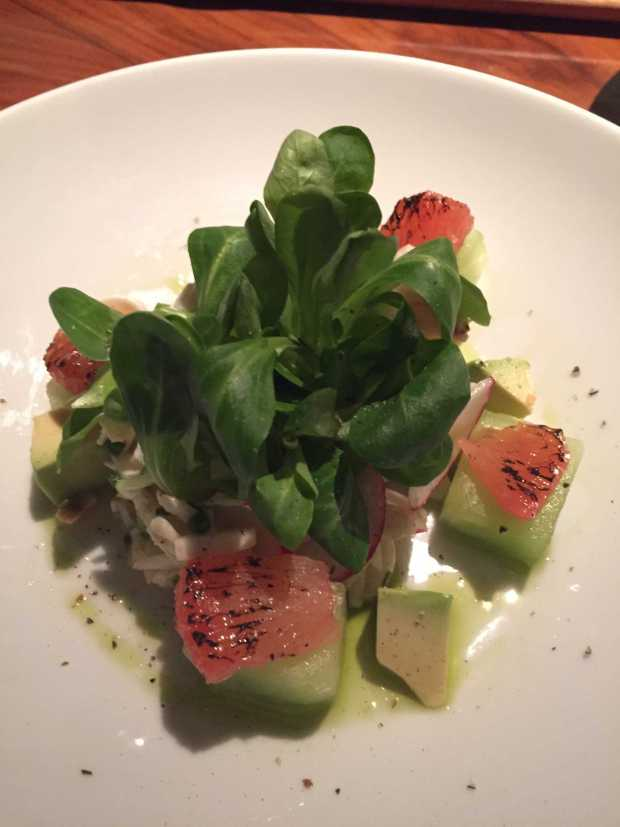 STK Lump crab salad