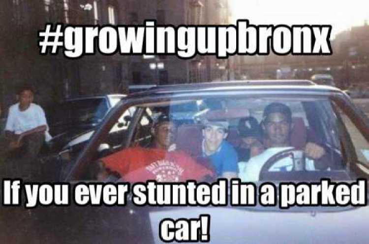 stunting car