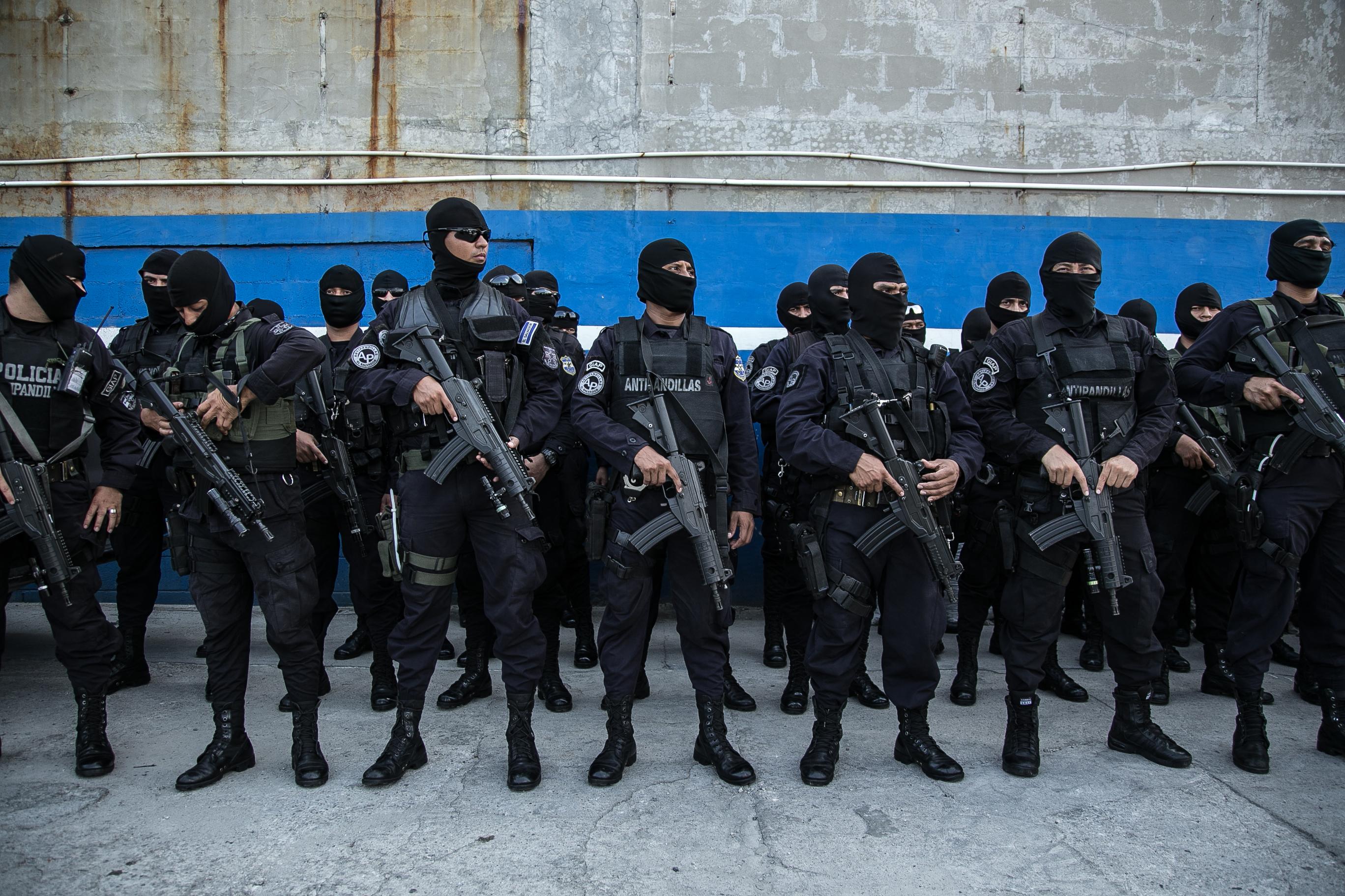 The Police Of El Salvador