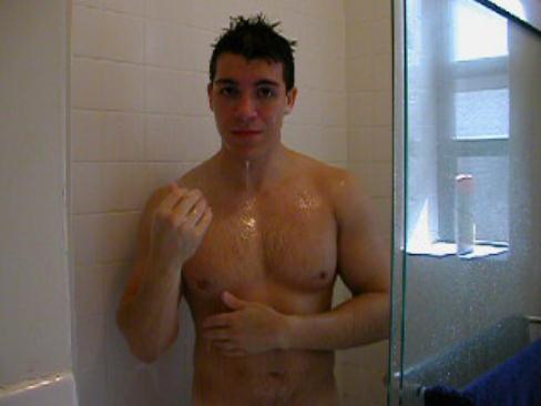 Men shower porn