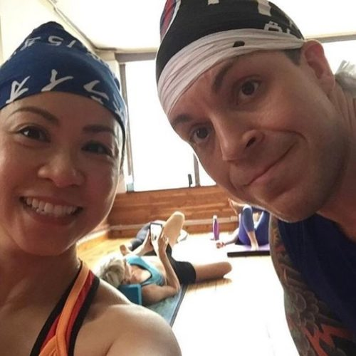 next best day yoga couple