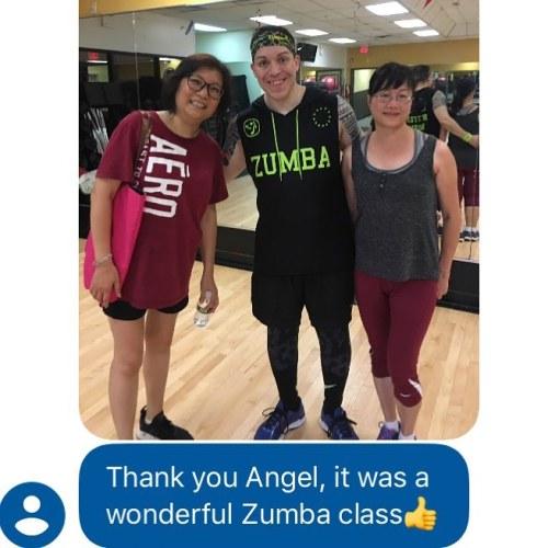 nextbestday Zumba compliment