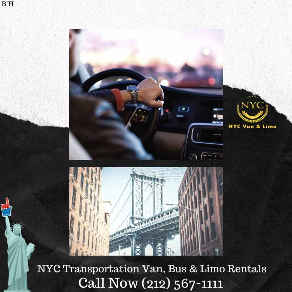 NYC Transportation Van, Bus & Limo Rentals