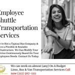 Employee Shuttle Transportation Services