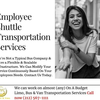 Employee Shuttle Transportation Services