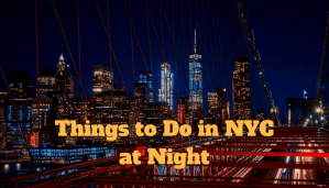 Things to Do in NYC at Night