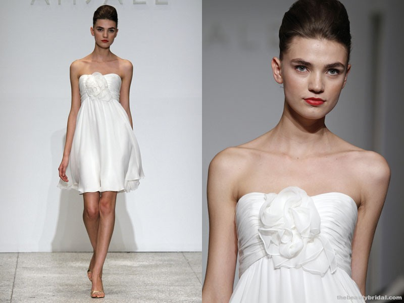 My Bridal Fashion Guide To Short Wedding Dresses » NYC