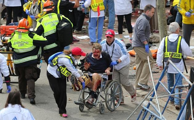 Photos of the Boston Marathon Bombing (VERY GRAPHIC - DISCRETION ADVISED) (1/6)