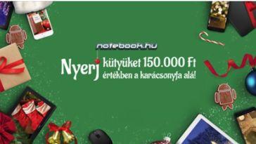 Itt a notebook.hu nyereményjátéka.