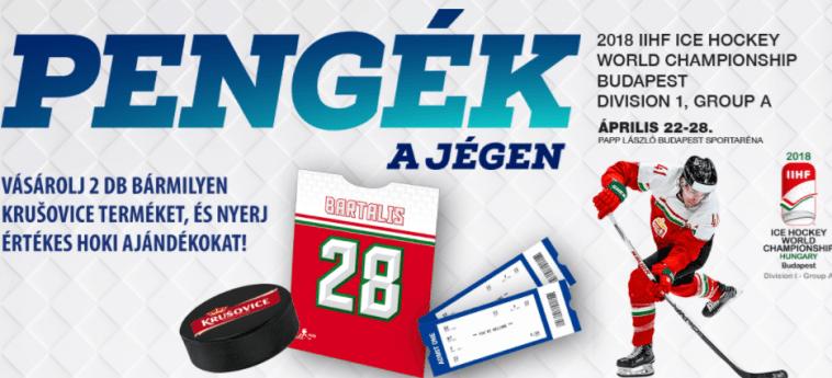 Krusovice nyereményjáték - nyerj értékes jégkorongos ajándékot