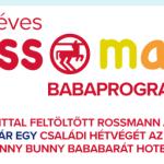 Rossmanó Babaprogram nyereményjáték - játssz és nyerj pihenést vagy értékes ajándékkártyát.
