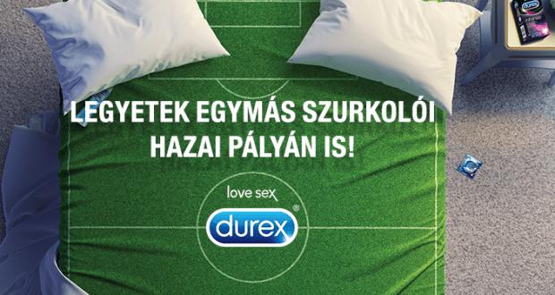 Durex nyereményjáték - játssz és nyerj fociutat.