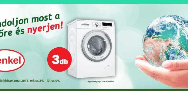 Henkel nyereményjáték - nyerj mosógépet