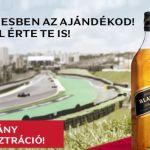 Johnnie Walker nyereményjáték - nyerj belépőt a Magyar nagydíjra: a játék július 22-ig tart
