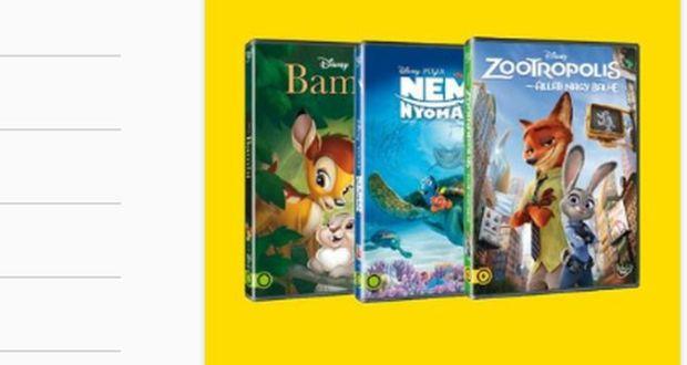 Nyerj Állatkerti belépőt Disney DVD vásárlásával a LIDL-ben.
