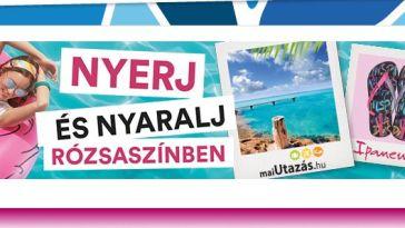 Rexona - nyerj és nyaralj rózsaszínben! A játék augusztus 31-ig tart