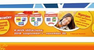 CBA 3 évszak (ősz) nyereményjáték - Nyerj a kijelölt Unilever termékekkel!