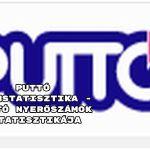 Puttó számstatisztika - Puttó nyerőszámok statisztikája