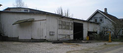 Her ses Det gamle fillerupsavværk et par dage før det blev revet ned