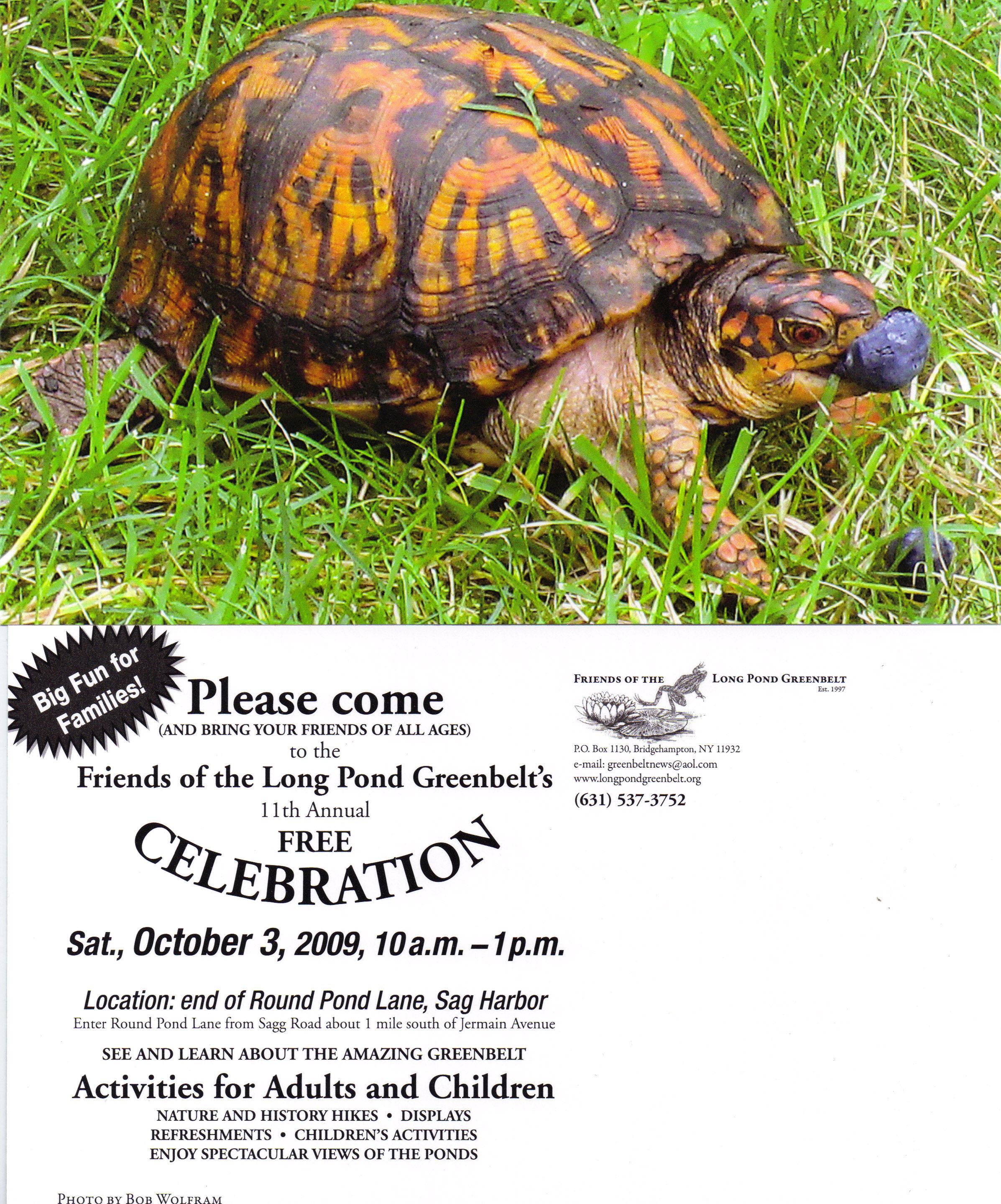 FLPG Celebration 2009 flyer