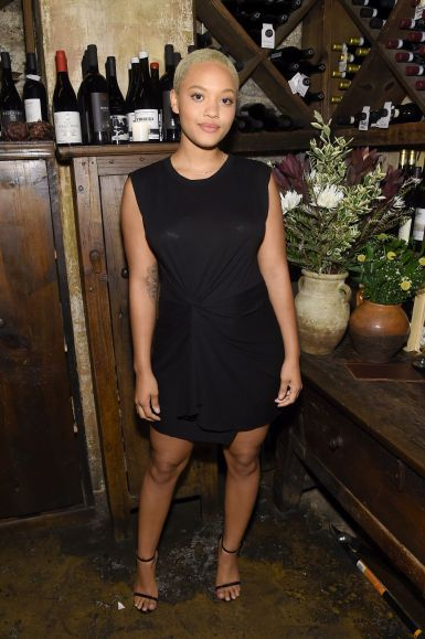 NEW YORK, NY - MAY 16:  Kiersey Clemons attends ELLE x Stuart Weitzman celebration of Giovanni Morelli's debut collection for Stuart Weitzman hosted by Nina Garcia on May 16, 2018 in New York City.  (Photo by Jamie McCarthy/Getty Images for ELLE)