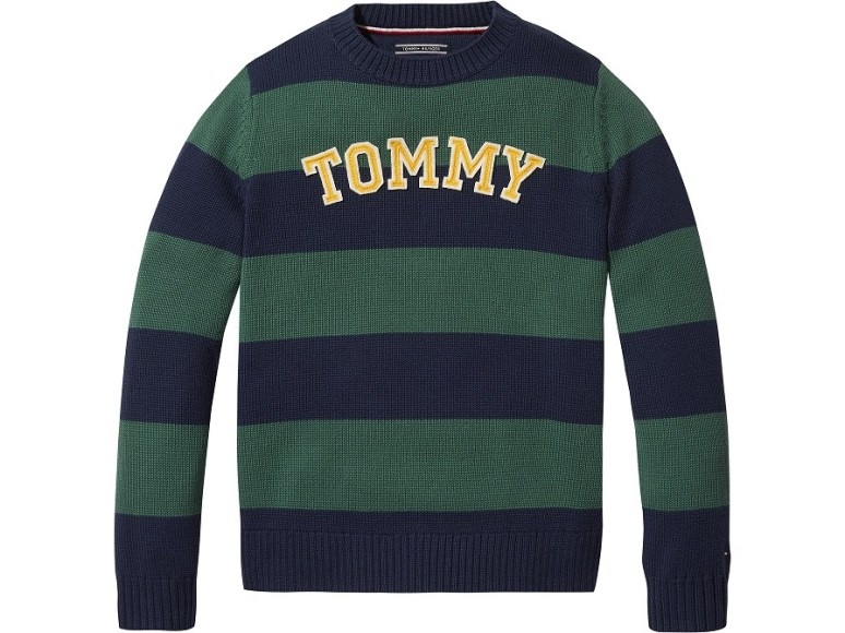 ESSENTIAL RUGBY STRIPE SWEATER