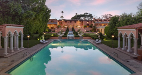 Beverly House is well known for its movie scenes in The Godfather and The Bodyguard.