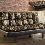 Crown Mark 5250 Sundown Transitional Style Living Room Sofa Camo Finish
