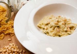 Pesto med mascarpone