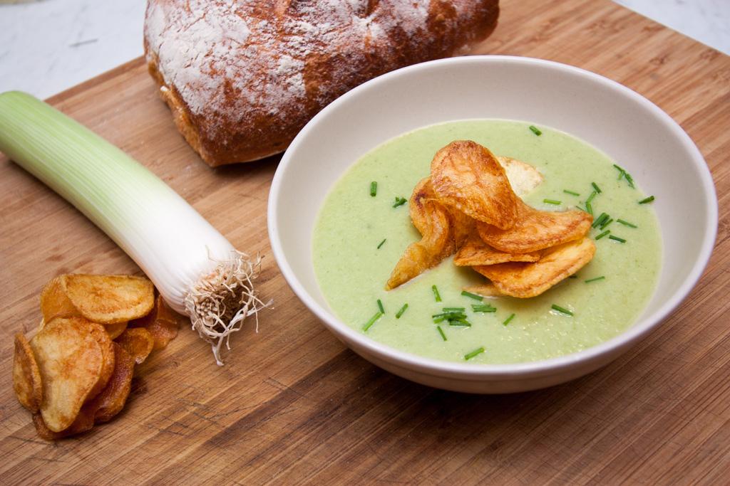 potatis och purjolökssoppa per morberg