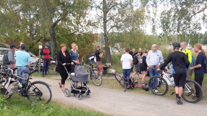 Stockholm Bike Open turingmachine tog hem segern I Baslägret 2