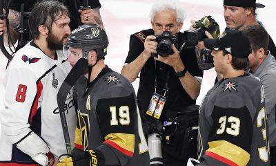 Bruce Bennett captures handshake line