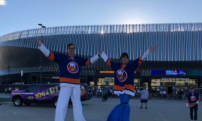 Nassau Coliseum, home of the New York Islanders